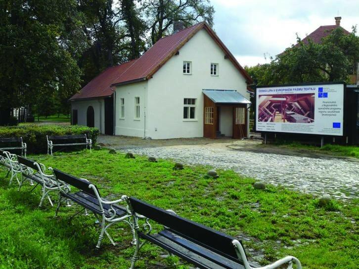 Centrum textilního tisku u Vodního hradu v České Lípě
