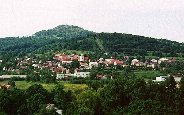 Jiřetín pod Jedlovou a Křížová hora