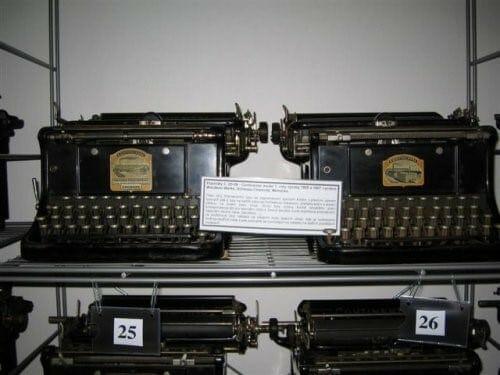 Muzeum psacích strojů v České Kamenici