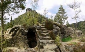 Zřícenina hradu Falkenštejn